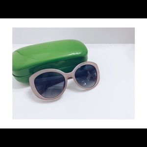 Kate Spade 55 mm SHERRIE Pearl Pink Sunglasses